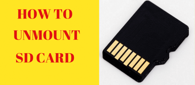 How To Unmount Sd Card: 5 Rich Ideas