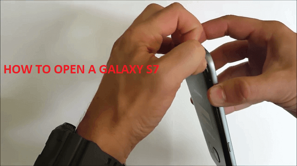 How to Open a Galaxy S