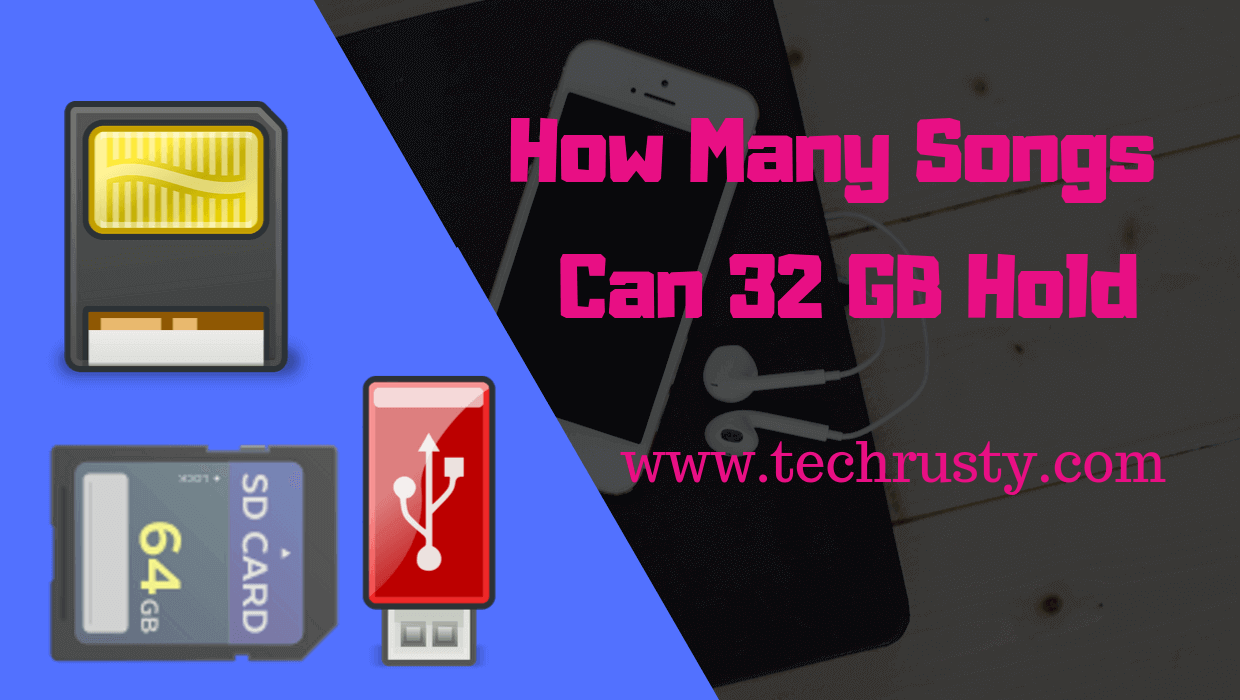 How many songs can 32GB hold