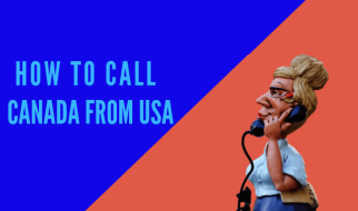 how to call Canada from US