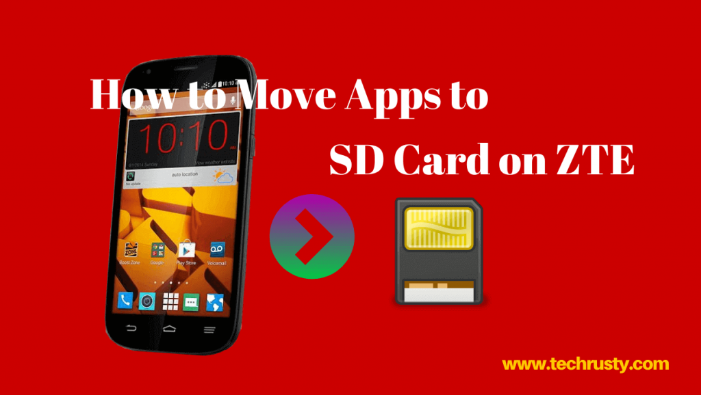 How to move apps to sd card on ZTE