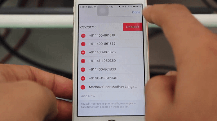 How to Unblock Text Messages
