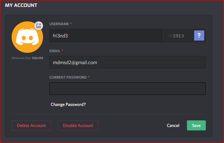 How to -change your nickname in discord