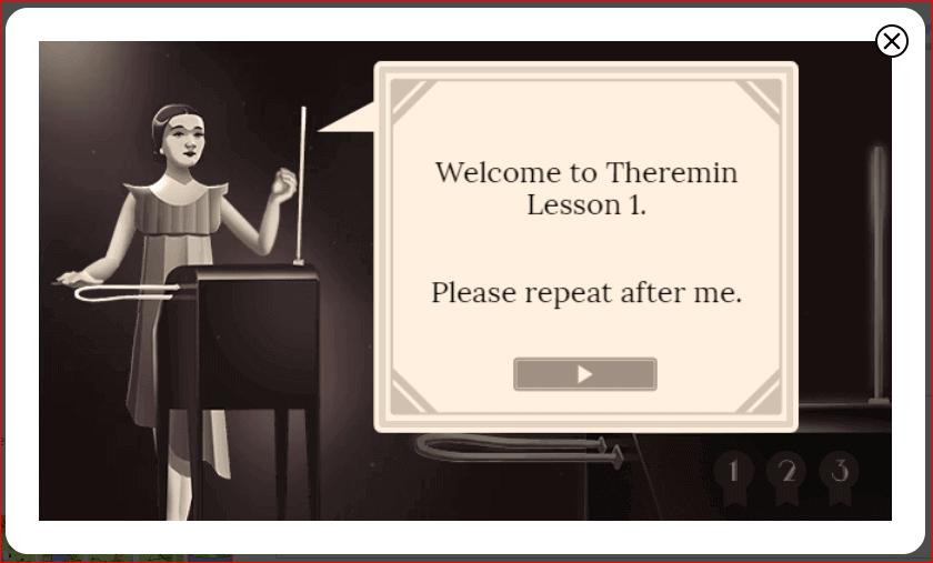 Clara Rock More Theremin Lesson