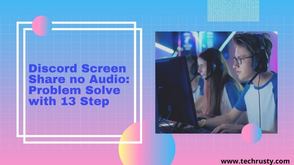 discord not streaming audio