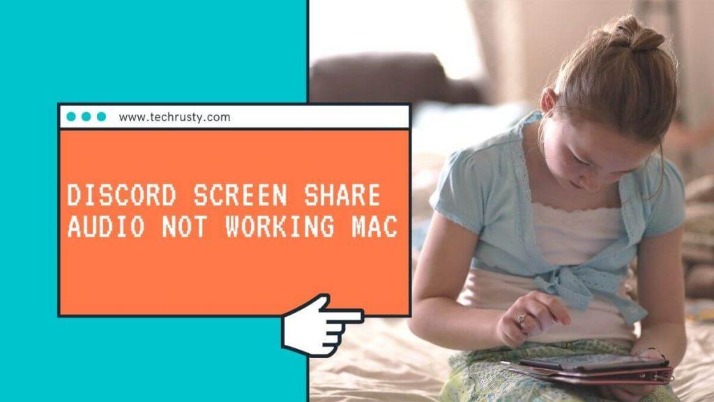 discord share screen no sound