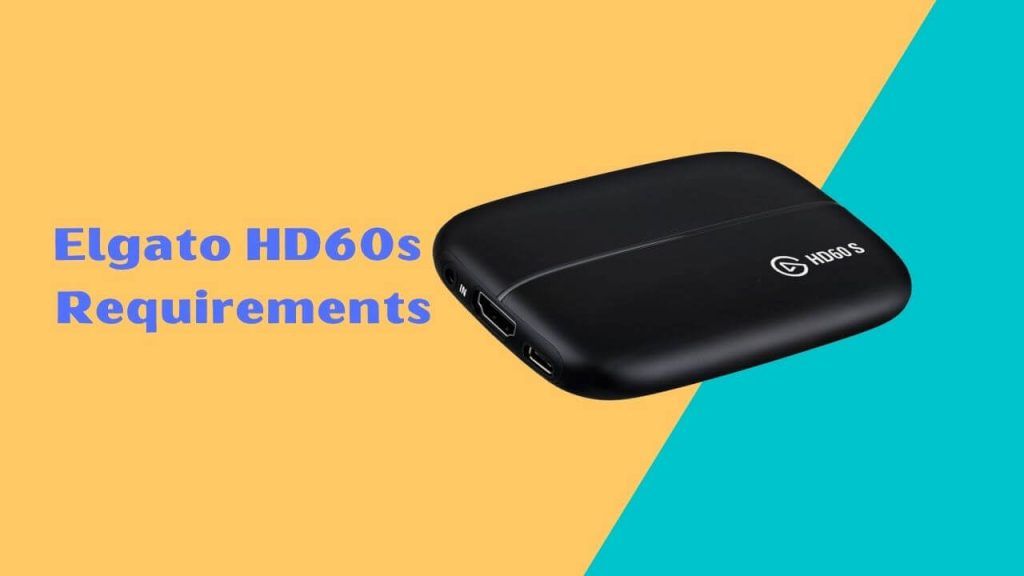 how to setup elgato hd60s