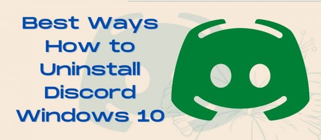 How to Uninstall Discord Windows 10