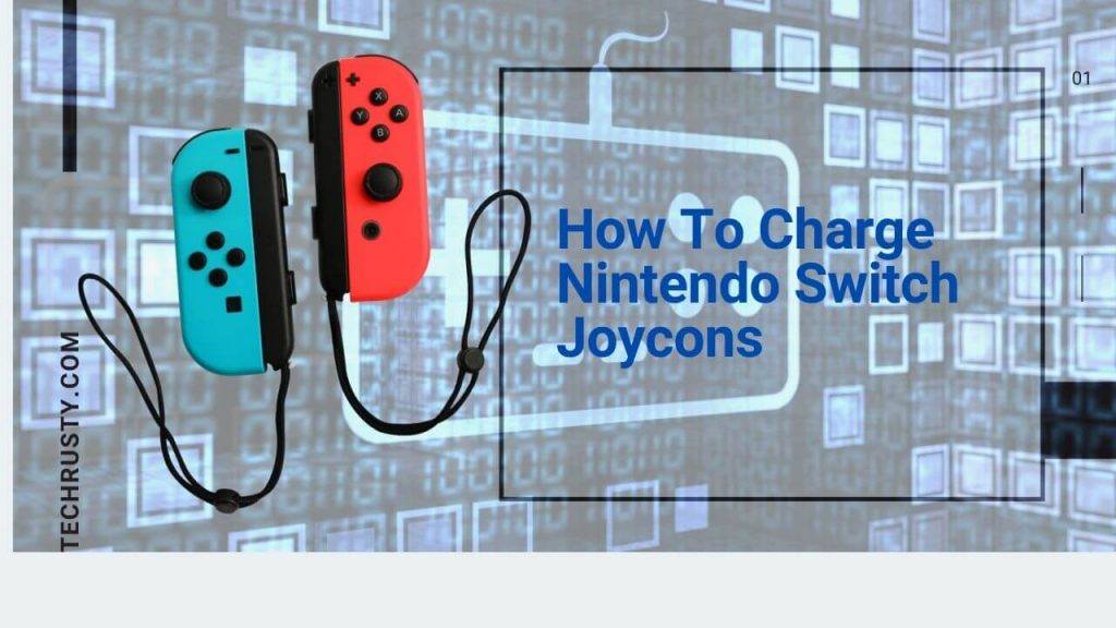 how to charge nintendo switch joycons