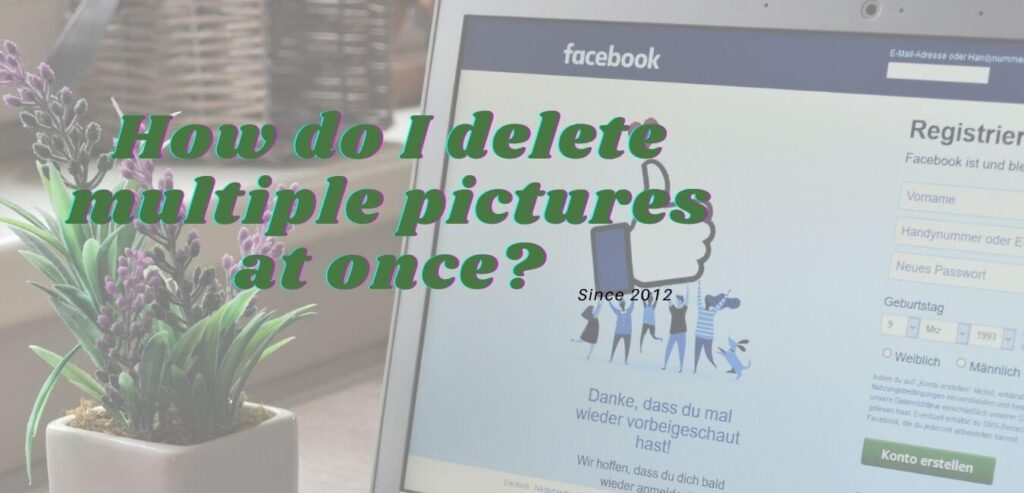 How do I delete multiple pictures at once?